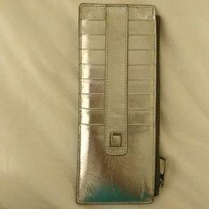 Lodis Metallic Silver Wallet